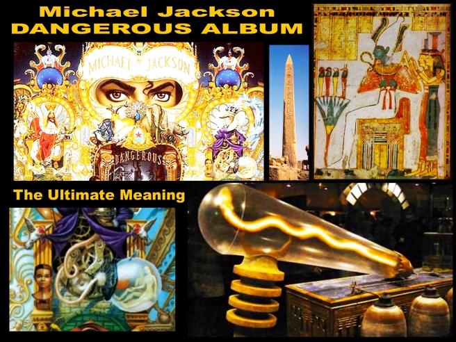 Michael Jackson Dangerous Album Correct Information: Twin Soul Light Bulb Ancient Egypt Knowledge Osiris and Isis Twin Flames Souls ©
