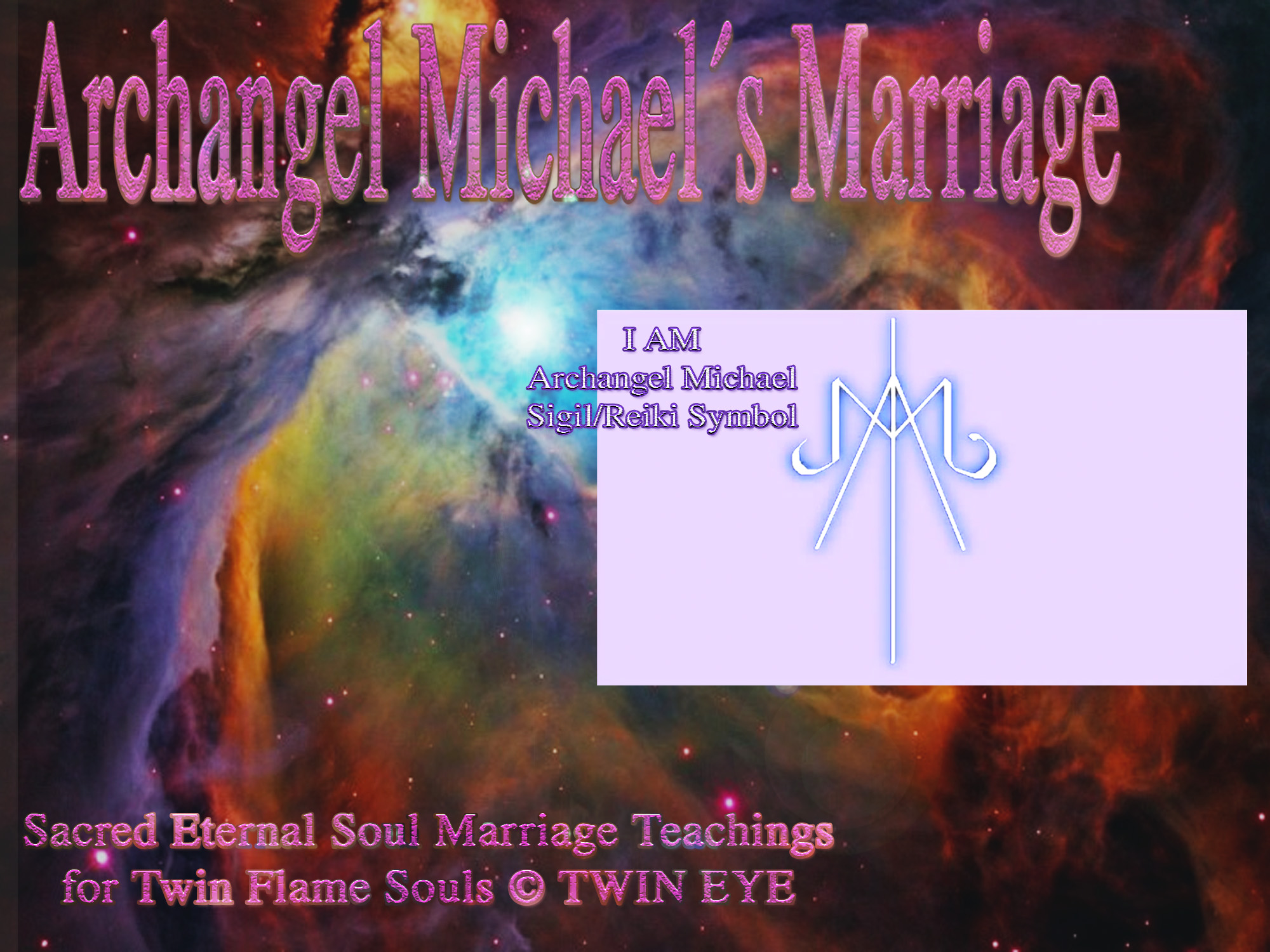 Archangel michaels marriage how to draw archangel michaels i am archangel michaels marriage how to draw archangel michaels i am energy symbol biocorpaavc Images