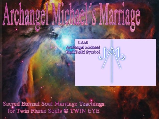 Archangel Michael´s Marriage: How To Draw Archangel Michaels I AM Energy Symbol- Reiki Sigil Channeled © 2011