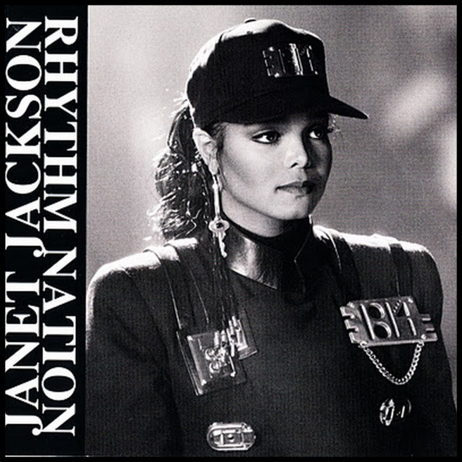 Janet Jackson´s Rhythm NATION: Michael Jackson´s Twin-like Sister - Photo for educational Purpose the JAM Article by Susan Elsa-