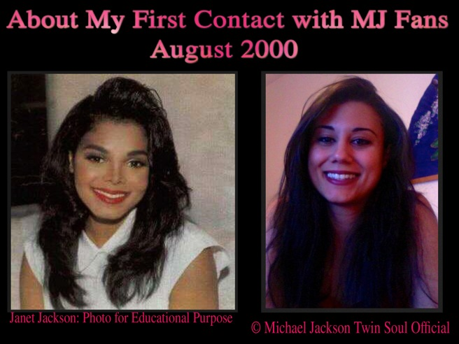 Michael Jackson Twin Flame Soul: My First Contact with MJ Fans © August 2000