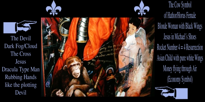 Planet Ascension Mass Human Consciousness History Memory Archangel Michael Jackson Painting Neverland
