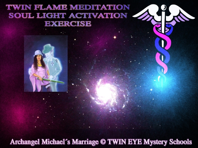 THE TWIN FLAME LOVE GARDEN EXPERIENCE: Double Intertwined Flame (Blue/Rose) Meditation Article & Video for 2015 © Michael Jackson Susan Elsa Twin Soul Experiences Information