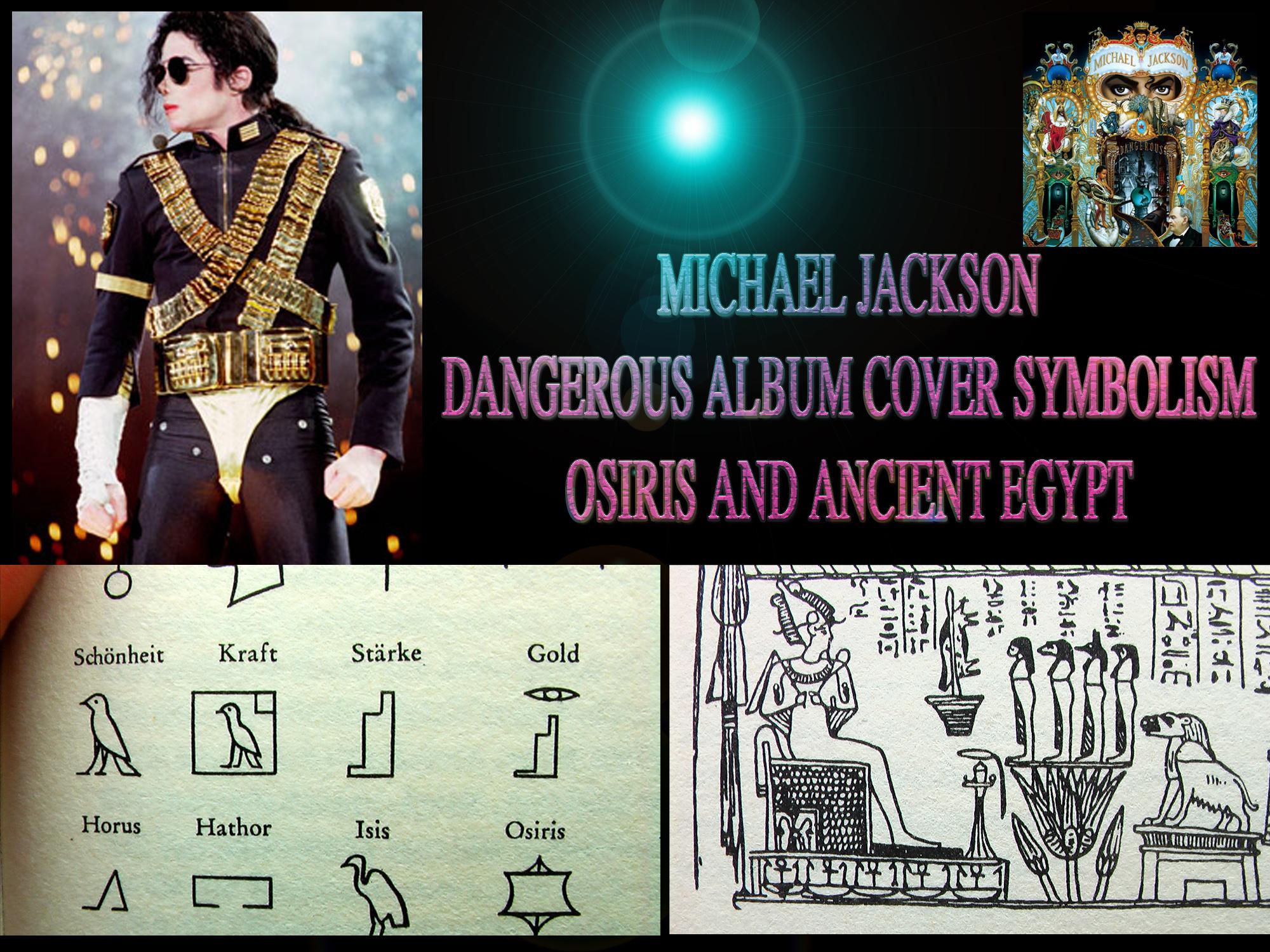 michael jackson180s osirian dangerous album cover soul