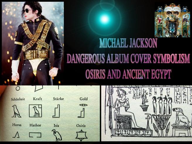 Secret Osiris Message- Michael Jackson Dangerous Album Cover Information © Michael Jackson TwinFlame Soul Official