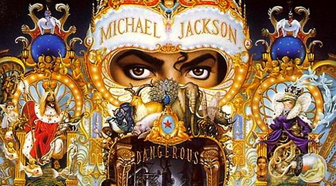 Michael Jackson: DANGEROUS MJ CD ALBUM COVER (Photo for educational Purpose)