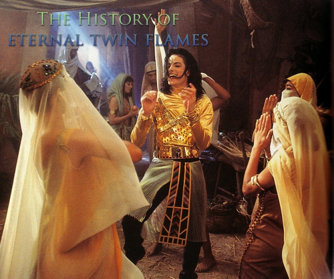 History Eternal Twin Flames - Michael Jacksons REMEMBER THE TIME and Spiritual Real Education and Information Beyond the Song