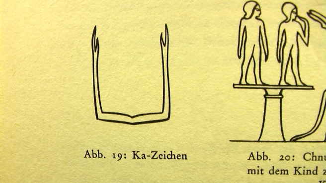 """THE KA in Ancient Egypt: Translated Excerpt from the Book """"Symbols and Gods by Lurker"""" (German to English)"""