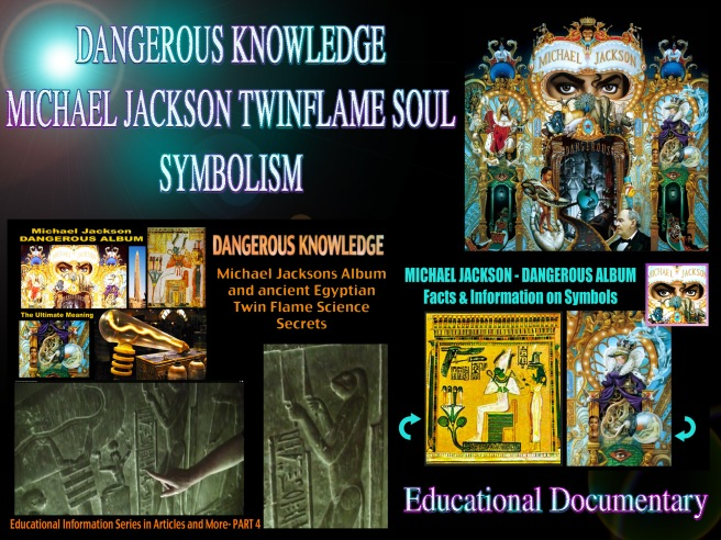 Michael Jackson Dangerous Knowledge Twin Flame Symbolism Soul Aura Light Bulb Dendera © Ancient Egyptian Osiris and Isis Facts