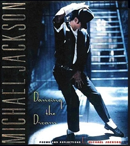 Michael Jackson Original Book Cover DANCING THE DREAM (Photo for Educational Purpose Only)