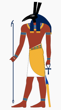 Original Depiction of evil jealous Set from ancient Egypt (Murderer of Osiris)