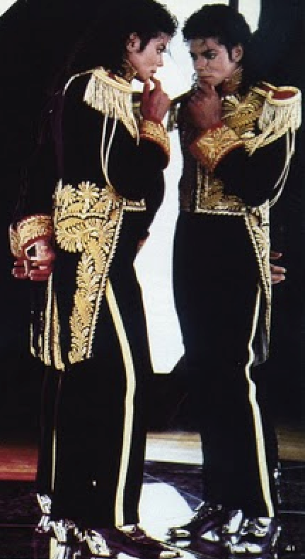 Twin Soul Mirror Image and MAN IN THE MIRROR Self Imagery © Michael Jackson TwinFlame Soul Official