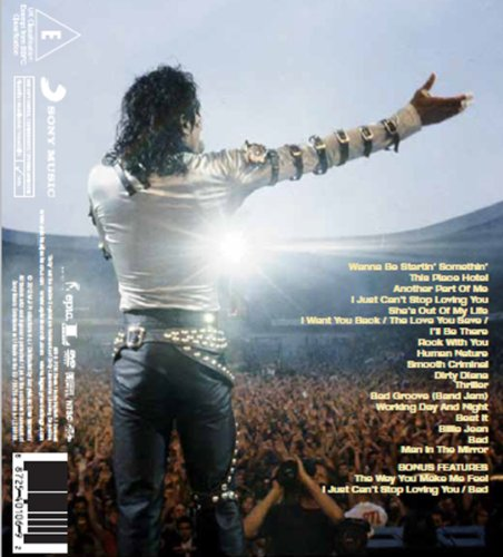 Michael Jackson Live at Wembley CD Cover