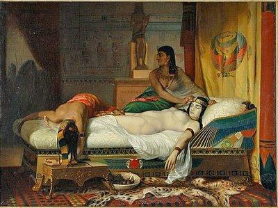 MichaelJacksonOriginalPainting_Egypt_Queen