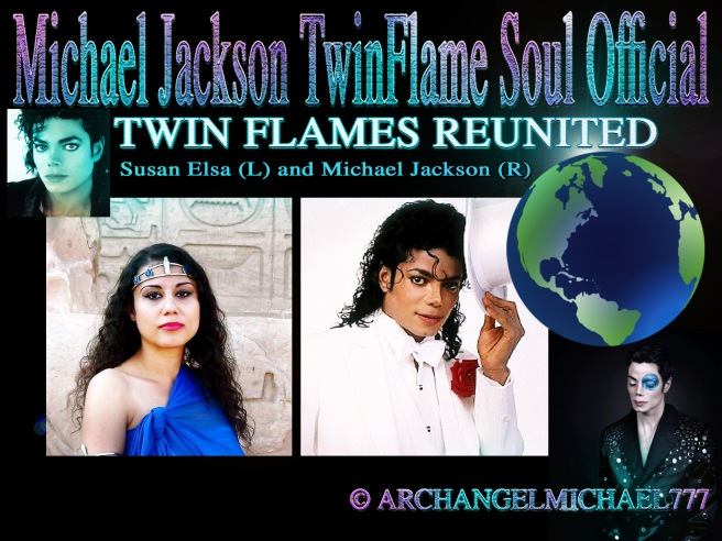 TWIN FLAMES REUNITED © Michael Jackson TwinFlame Soul Official