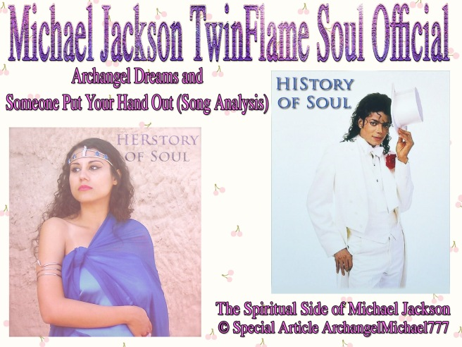 Someone Put Your Hand Out- A True Twin Flame Song by Michael Jackson- Special Article © Video And More