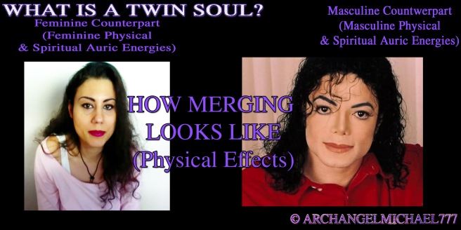Clear Physical Changes Example Michael Jackson Famous Appearance Adjustment to Twin Soul Flame Looks © Michael Jackson TwinFlame Soul Official