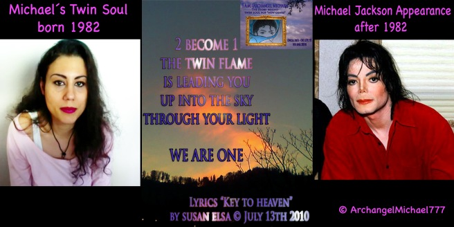 Michael Jackson was channeling...: Metamorphosis Appearance with Twin Flame Soul Mate Visual Facts © ArchangelMichael777