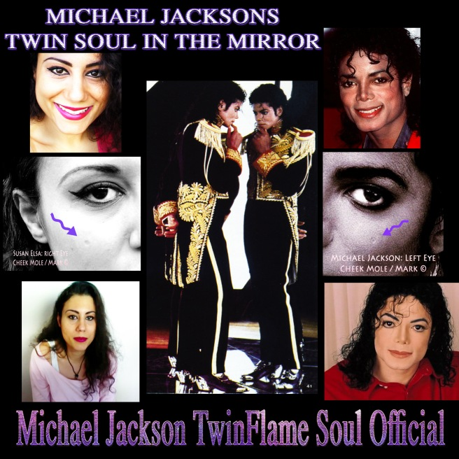 Michael Jackson Twin Soul In The Mirror- Insight Science Research Article and Merging Levels © Copyrighted Physical & Intellectual Property