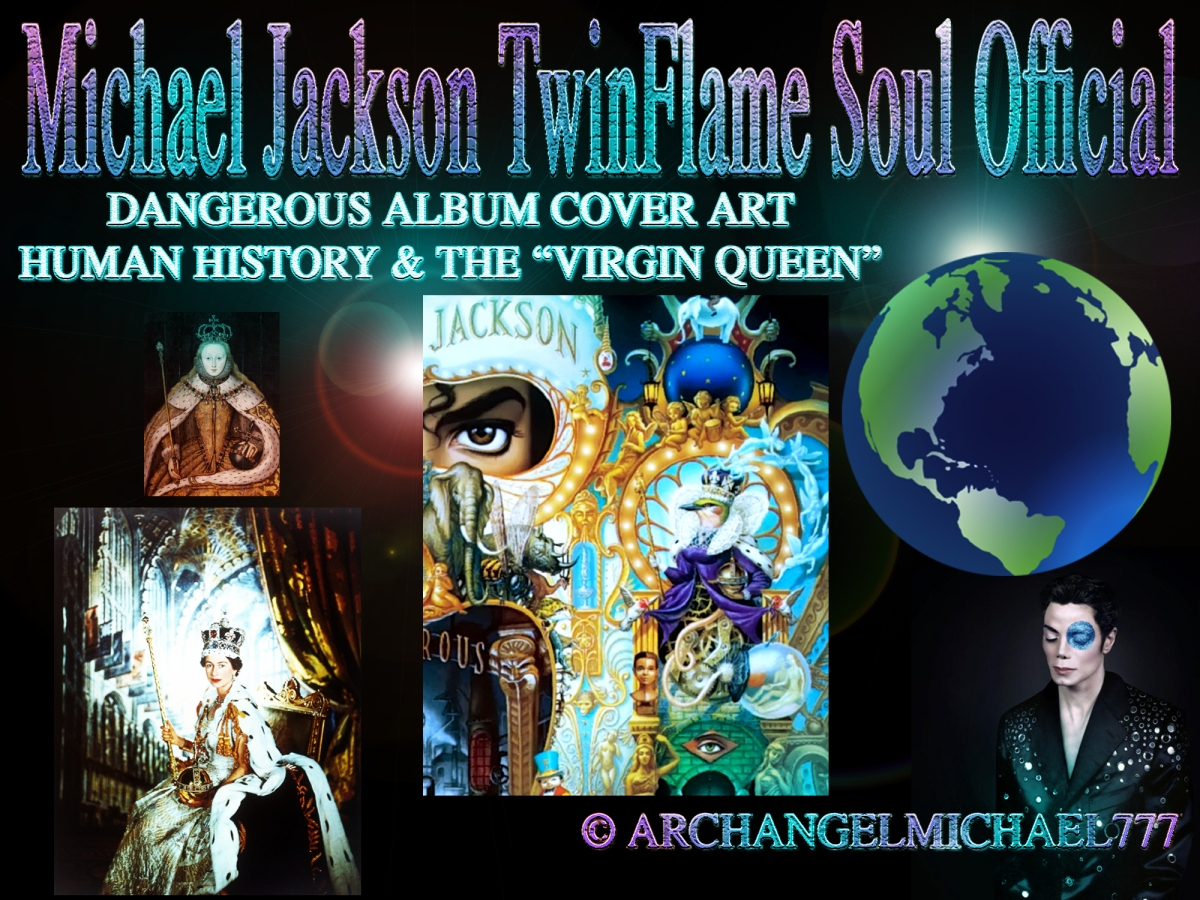 michael jackson180s dangerous album cover art message on