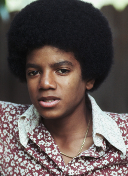 This is Michael Jackson in his Childhood - Photo for Educational, Documentary and Science Research Purpose -
