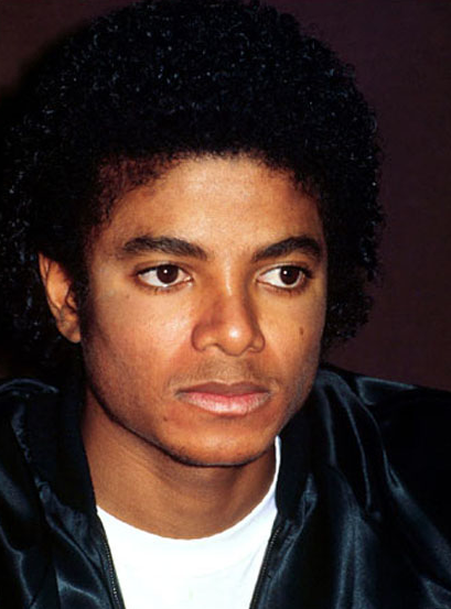 Michael Jackson After Thriller 1982: Comparing Photos- Educational Purpose