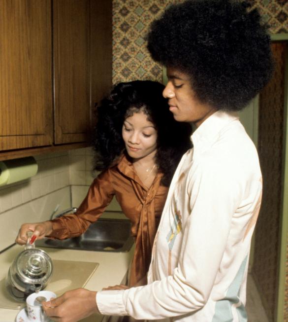 Michael Jackson 1978 with LaToya- Photo for Educational Purpose