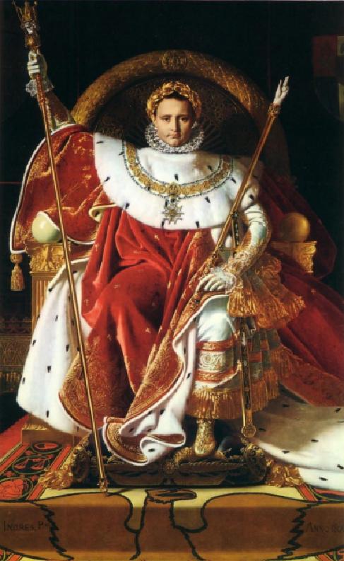 Napoleon Bonaparte Painting Anno 1804
