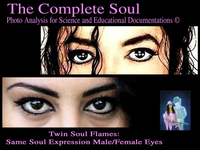 The Complete Twin Soul Eyes Same Expression Spiritual Aura Female Male ©