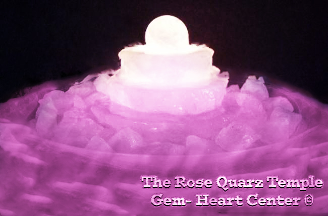 The Rose Quarz Temple Gem Heart Magic Forest © Michael Jackson TwinFlame Soul Official