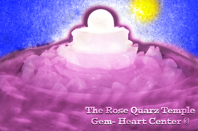 The Rose Quarz Temple Heart in Sun Ray Light- Special Energy Meditation Story © Michael Jackson TwinFlame Soul Official