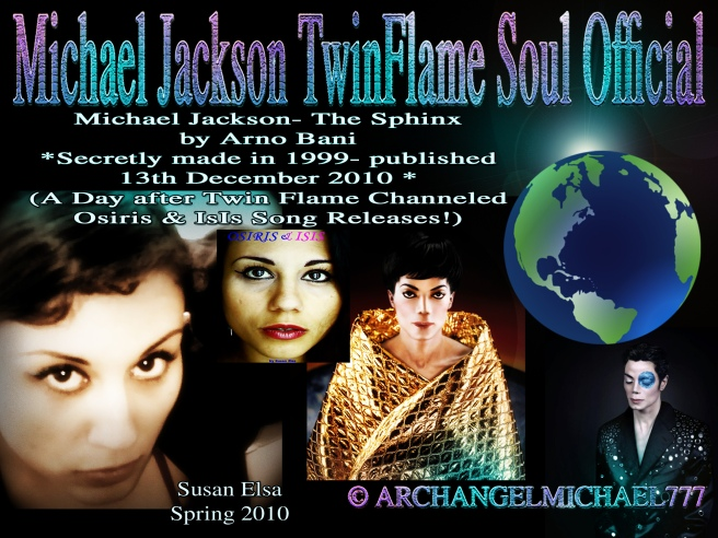 Twin Pictures Susan Elsa Michael Jackson Sphinx Voice of Ancient Egypt and Planet Earth © Michael Jackson TwinFlame Soul Official