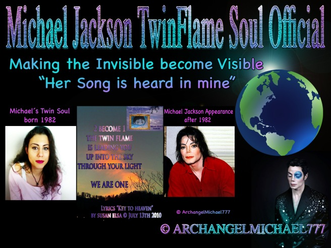 Michael Jackson Special Article: Two Become One- Her Song Is Heard In Mine Invisible Bird Soul Visible © Michael Jackson Metamorphosis Appearance Reasons