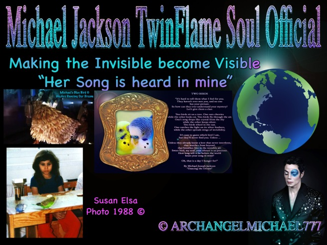 MICHAEL JACKSON DANCING THE DREAM MEANING: TWO BIRDS TRUTH TWIN SOULS MERGING AND CONSCIOUSNESS TELEPATHY © TwinFlame Soul Official