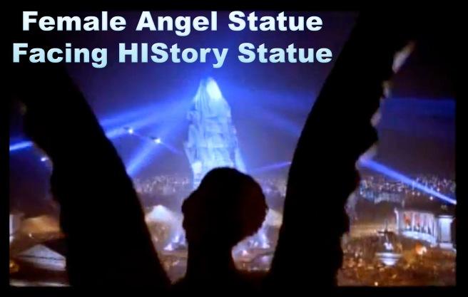 HIStory Female Angel Hidden Message