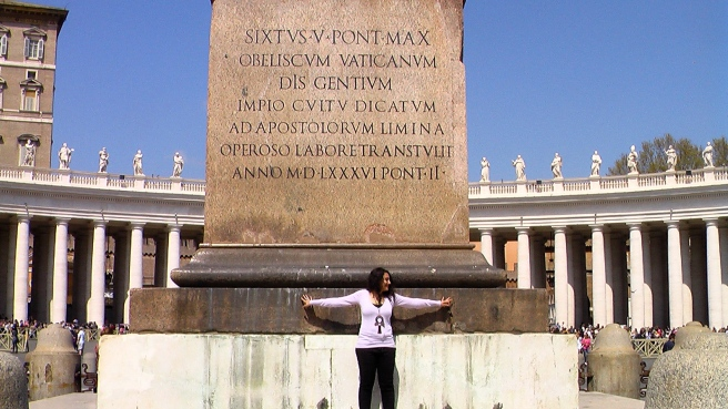 Michael Jackson Twin Soul Healing and Resurrection Magic Touch at Obelisk St Peter Square Vatican © TwinFlame Soul Official