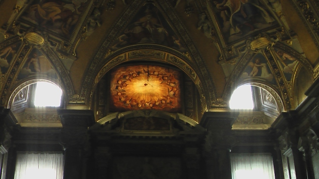 Susan Elsa at Santa Maria Maggiore- The Eye of Amun Ra/Osiris © Michael Jackson TwinFlame Soul Official