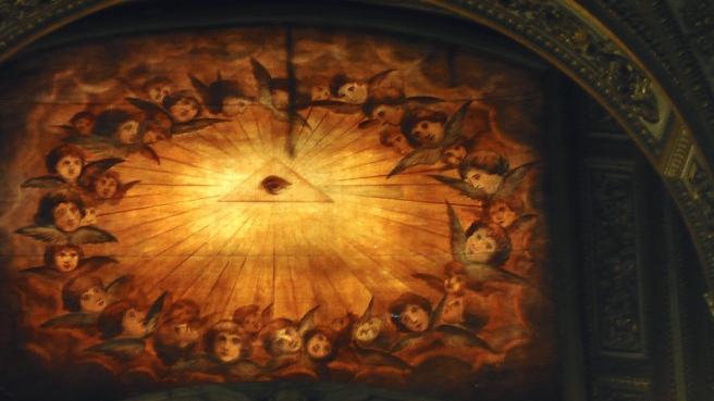 Susan Elsa at Santa Maria Maggiore- The Eye of Amun Ra/Osiris © Michael Jackson TwinFlame Soul Official