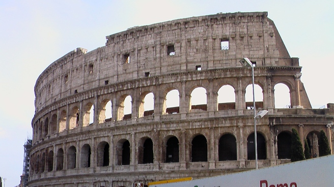 The Ancient Roman Colosseum where Once Gladiators and Animals fought © Susan Elsa