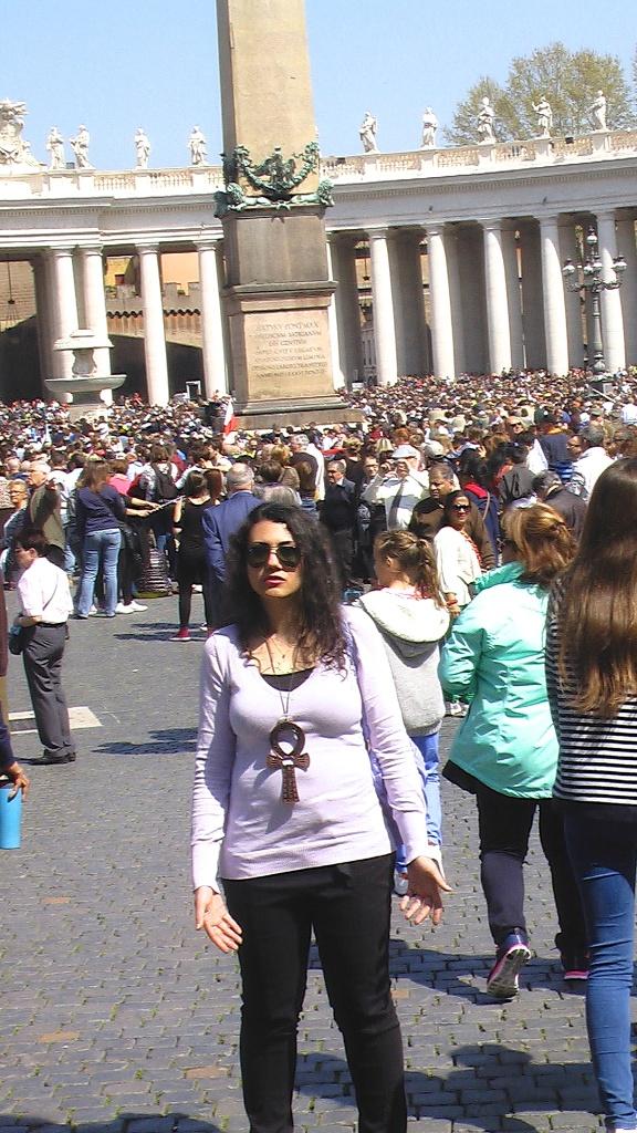Susan Elsa- Michael Jackson Twin Soul Magic Mind Focus at Obelisk St Peter Square Vatican © TwinFlame Soul Official