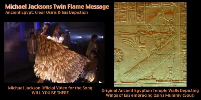 Michael Jackson Protected by Wings of Twin Flames Love