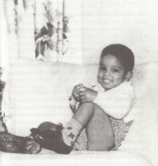 Michael Jackson Cute Baby Picture - The Laundry Machine Dance Story and Twin Souls Merging Skills