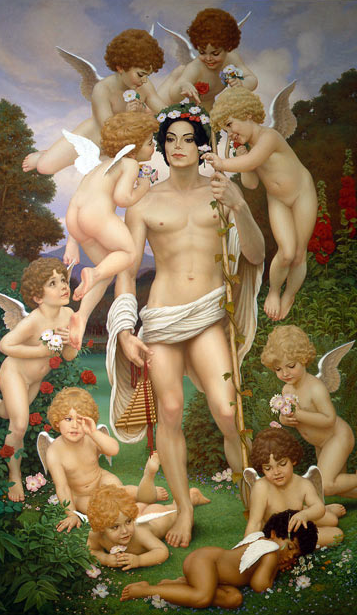 Michael Jackson David Nordahl Painting: Archangel Michael Cherub Imagery - Educational Purpose by Michael Jackson TwinFlame Soul Official-