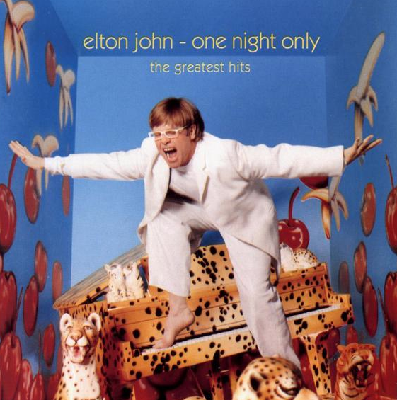"Elton John CD Cover for ""One Night Only"" - For Educational Purpose Only-"