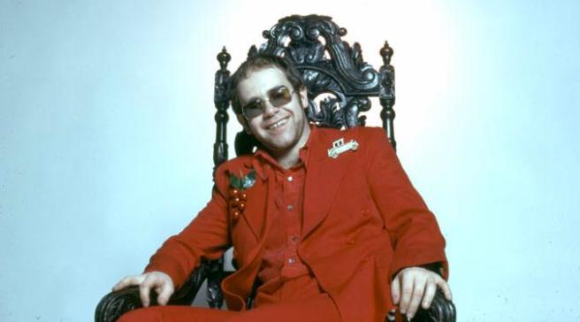 Elton John- Photo for Educational Purpose -