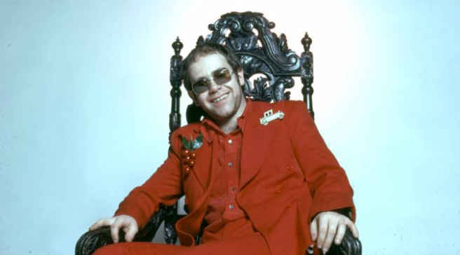 Elton John- Photo for Educational Purpose -