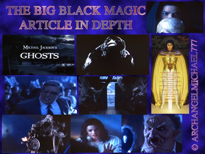 The Big Black Magic Article: About Shadow Magic/ Interference Magic/ Manipulation Magic and Jealousy Ghosts © Michael Jackson TwinFlame Soul Official