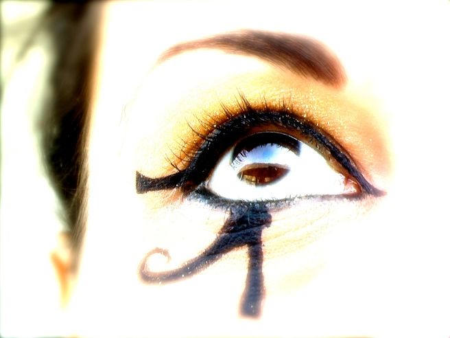 Susan Elsa about the Ancient Egyptian All-Seeing Eye Symbolism (Photo Summer 2011) ©  Michael Jackson TwinFlame Soul Official