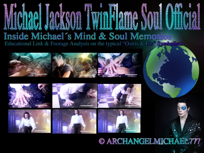 Inside Michael Jacksons Mind and Soul Memories:  Seeing Voices and Unreleased Ghosts Footage Osiris Resurrection Symbolism © Michael Jackson TwinFlame Soul Official