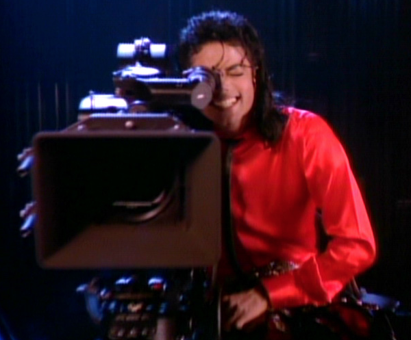 Michael Jacksons Film Visions: He is having lots of fun directing this Real Life Story... © Michael Jackson TwinFlame Soul Official